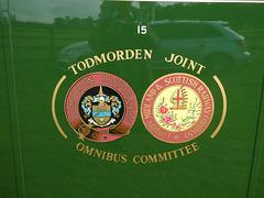 Todmorden JOC insignia at Showbus - 29 Sep 2019 (P1040646)
