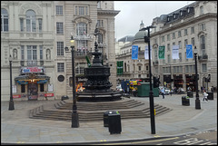 empty Piccadilly