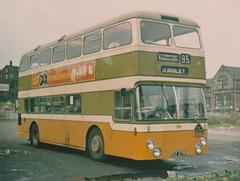 Calderdale JOC 299 (RCP 279K) in Rochdale – August 1973