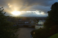 Sunset from Inverness Castle