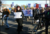 leftie NHS demonstration