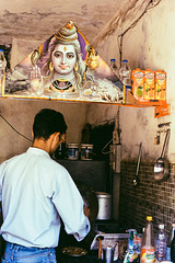 Cooking overseen by mighty Shiva