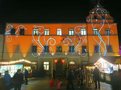 Rathaus Pirna Im Licht