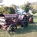 Barbu et son tracteur