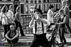 Le jongleur dans le 4e arrondissement