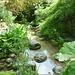 Le jardin des Fontaines Pétrifiantes La Sône Isère