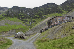 Force Crag Mine Buildings below Force Crag, Coledale - Cumbria