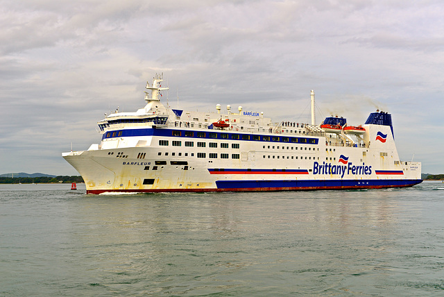 BARFLEUR sailing from Poole