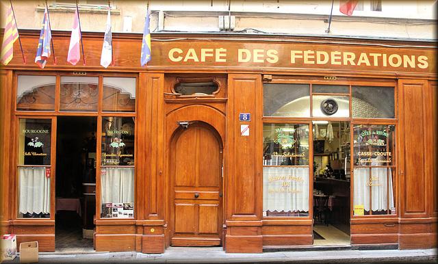 Lyon (69) 14 juin 2017. Un des plus célèbres restaurants de Lyon.