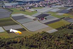 Flight over Tettnang