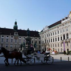 Wien / Vienna, Hofburg, In der Burg
