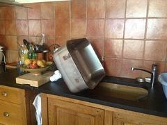 Pour la vaisselle, ça va pas être facile LOL