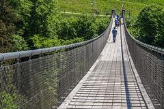 "Stahlseil-Hängebrücke ""Santa Lucia"""