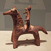 Boeotian Statuette of a Horse and Rider in the Virginia Museum of Fine Arts, June 2018