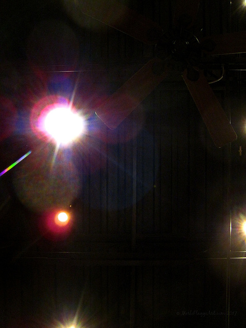 Ceiling With Lens Flare