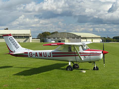 G-AWUJ at Cotswold Airport - 14 September 2017