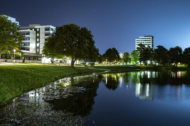 Campus at night (28.09.2019)