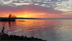 My Sunday Sunny Sunset glow...