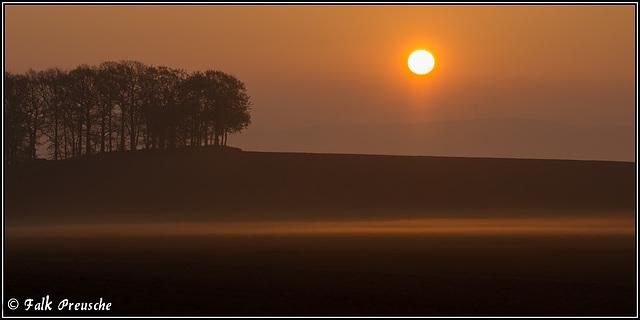 Die Sonne steigt auf