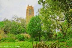 Bok Tower Topaz Filter Impressionistic