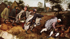 Pieter Bruegel - blinduloj