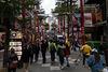 Shopping in den Straßen von Taipeh