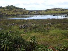 Fajã dos Cubres' lagoon.