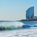 a la platja de Barcelona (© Buelipix)