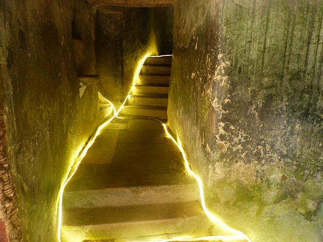 Capuchos : Corredores iniciais - Convent inner galeries