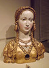 Reliquary Bust of a Female Saint in the Metropolitan Museum of Art, February 2014
