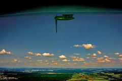 Last view before landing the Zeppelin