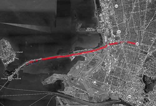 Bay Bridge Trail Hike -  Google