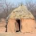 Namibia, Dwelling in the Himba Village of Onjowewe