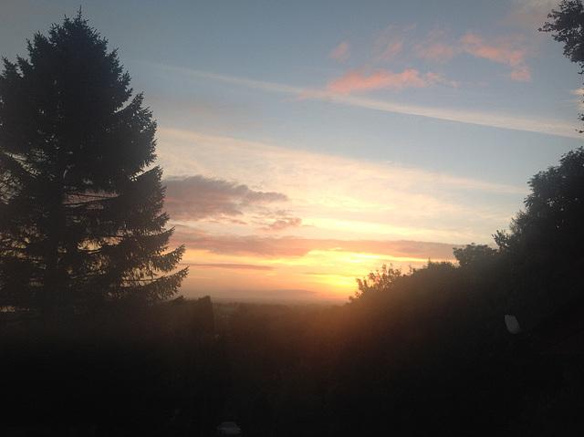 Daybreak Autumnal equinox