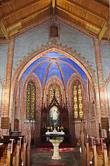 Leussow, Blick zum Altar
