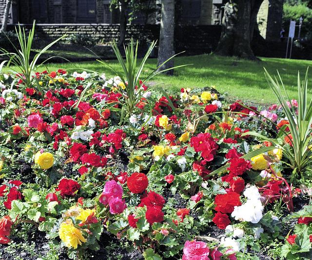 Floral display.