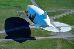 Landing the other Zeppelin