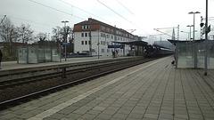 Ankunft in Schwerin