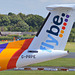Tails of the airways.  Flybe 2
