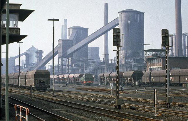 Grube Anna Mine Alsdorf Aachen Germany 12th September 1982
