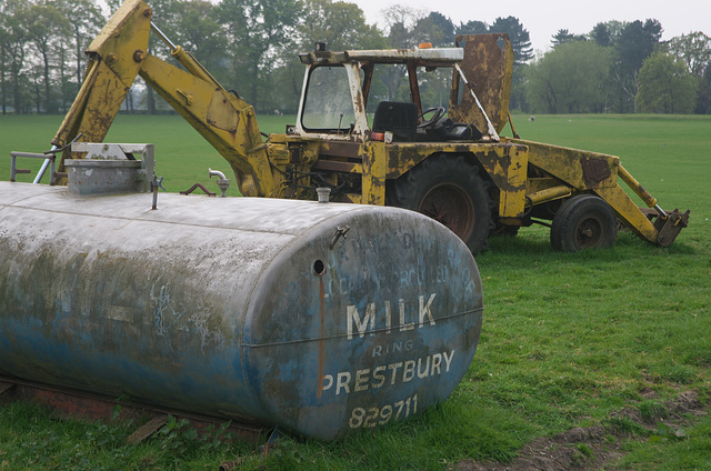 Dairy farming in Cheshire
