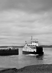MV 'Loch Shira' Leaving Largs