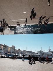 Ombrière quai de la Fraternité à Marseille