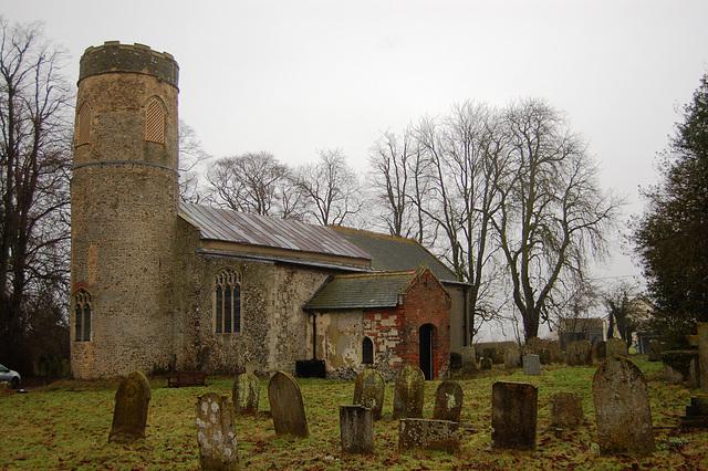 All Saints Church, Beccles Road, Mettingham, Suffolk