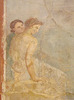 Detail of the Wall Painting of Perseus and Andromeda from the House of the Prince of Montenegro in Pompeii in the Naples Archaeological Museum, July 2012