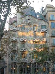 Gaudi à Barcelone