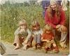 Andre, Zipporah, Sasha, Joanne. Holland 1974