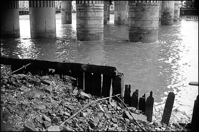 Thames near Blackfriars.