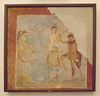 Wall Painting of Perseus and Andromeda from the House of the Prince of Montenegro in Pompeii in the Naples Archaeological Museum, July 2012
