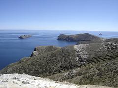 Vue du Lac Titicaca (Bolivie)